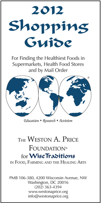 Shopping Guide - Weston A Price Foundation | Eat Paleo | Scoop.it