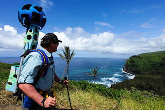 Google Street View Teams with Business to Track Maui Hikes - Maui Now | Google Business Photos | Scoop.it
