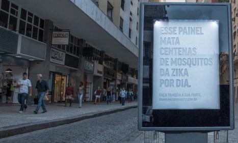 Brazilian Billboard Secretes Fake Sweat to Trap Mosquitos | News we like | Scoop.it