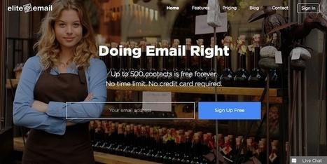 EliteEmail, para crear newsletters profesionales arrastrando y soltando elementos | Recull diari | Scoop.it