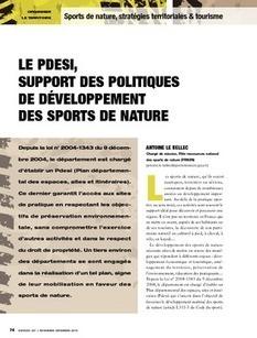 REVUE-ESPACES | Le Pdesi, support des politiques de développement des sports de nature | Tourisme de randonnées                                                                                                                                                                                 & Sports de nature pour les pros | Scoop.it
