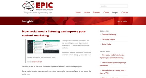 Epic Marketing | Showcase of custom topics | Scoop.it