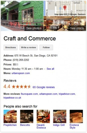 The New Look of Brand Search in Google | Social Media News | Scoop.it