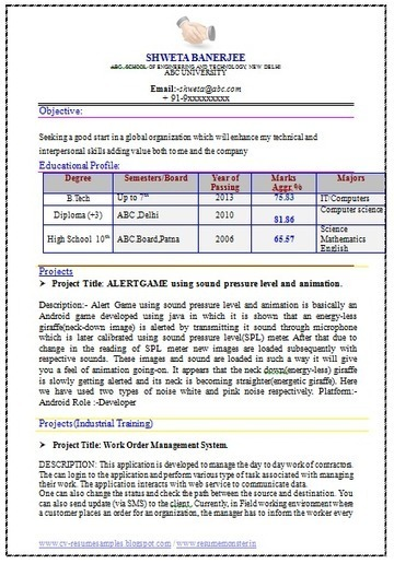 Over 10000 CV and Resume Samples with Free Download: Best Engineer Resume | Career | Scoop.it