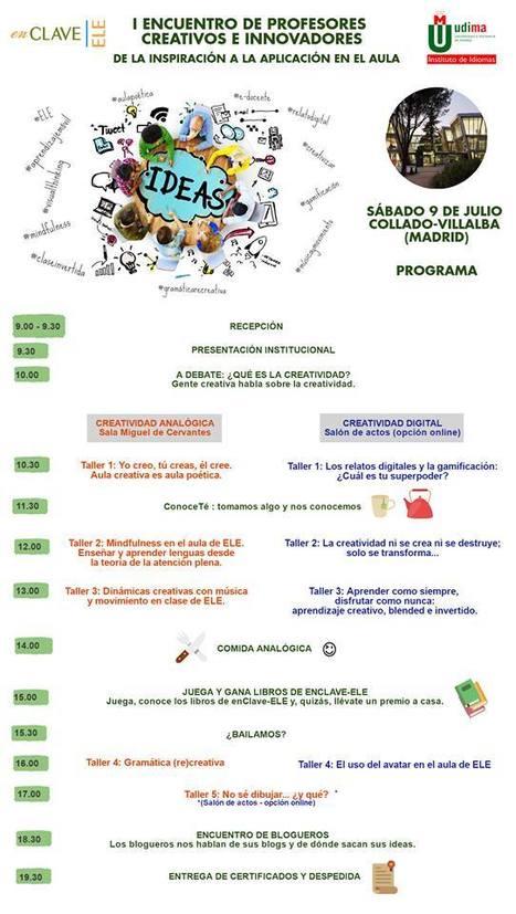 Encuentro creativo para profes de español   ELE TIC Educaglobal   Scoop.it