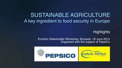 Sustainable Agriculture: A key ingredient to food security in Europe | Climate Smart Agriculture | Scoop.it