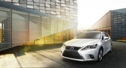 Eerste foto's nieuwe Lexus CT 200H - Manify | Wheels | Scoop.it