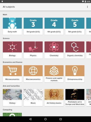 Disponible la aplicación oficial de Khan Academy para Android (versión beta) | Blogs educativos generalistas | Scoop.it
