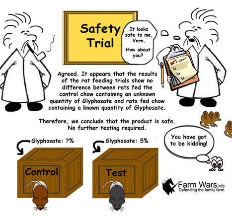 Factor GMO - Is Your Safety Trial Contaminated by Glyphosate? | Farm Wars | GMOs & FOOD, WATER & SOIL MATTERS | Scoop.it