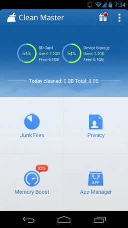 Download ứng dụng Clean Master - dọn rác cho Android - | Wap Hay | Scoop.it