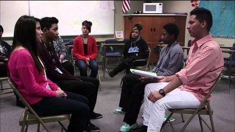 Colorado high school replaces punishment with 'talking circles' - YouTube | Restorative Practices in Schools- IBARJ | Scoop.it