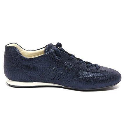 B1240 sneaker donna HOGAN OLYMPIA H BUCATA blu scarpa shoe woman [38.5] su www.kellieshop.com | kellieshopsales | Scoop.it