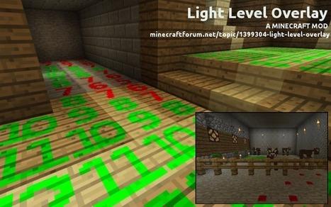 Light Level Overlay Mod 1.6.4 | Minecraft 1.6.4 Mods | Scoop.it
