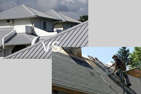 Metal Roofing vs. Asphalt Roofing | Pioneer Roofing & Sheet Metal | Scoop.it