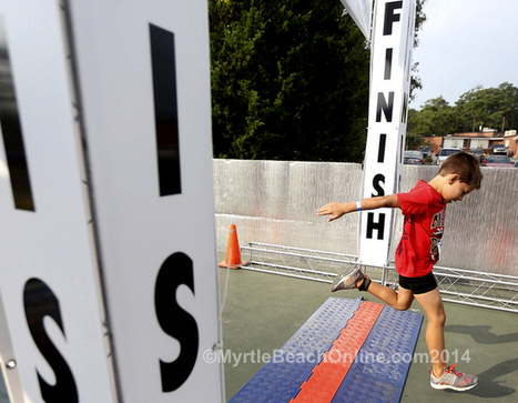Several take part in 6th Kids Triathlon in Myrtle Beach - MyrtleBeachOnline.com | Myrtle Beach | Scoop.it