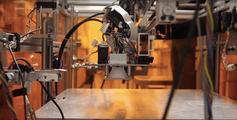 MIT's newest 3D printer spouts 10 materials at a time | Research_topic | Scoop.it