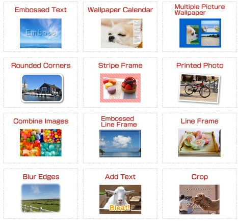 12 Great Web-based Image Editing Tools That Do Not Require Registration ~ Educational Technology and Mobile Learning | Technology Tools for School | Scoop.it