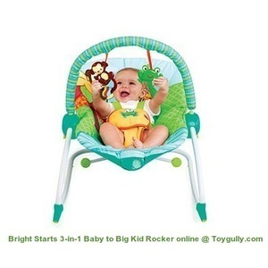 Toygully offers Bright Starts 3-in-1 Baby to Big Kid Rocker online. | KidsToys | Scoop.it