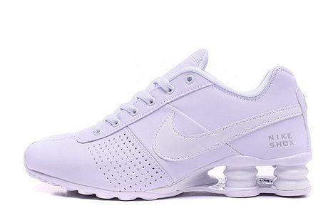 Nike Shox Deliver Men's Tennis Shoes all white : USA sales Nike shoes online 80% Off from China factory, www.saleshoesonline.us | Nike Shoes | Scoop.it