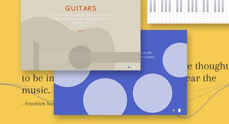 Interactive Musical Instruments | Codrops | Les belles ressources ! print - web - digital | Scoop.it