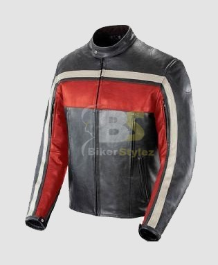 Zip Off Black Scooter Leather Outfit a very Bright Reflection. | Mens Biker Jackets | Scoop.it