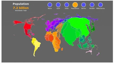 Interactive Lets You Visualize The World In Six Different Ways | Informatics Technology in Education | Scoop.it