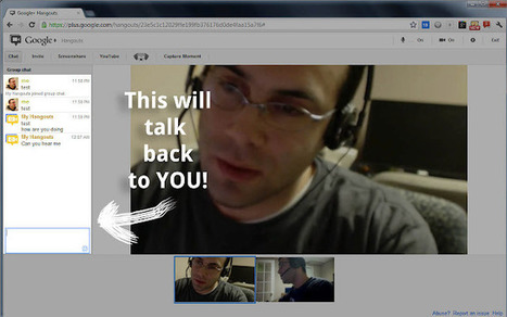 Accessible Hangouts for Google+ | Time to Learn | Scoop.it