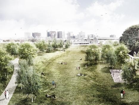 Dreef en glooiend landschapspark op Thurn & Taxis [+beelden] | Bruxel | Scoop.it