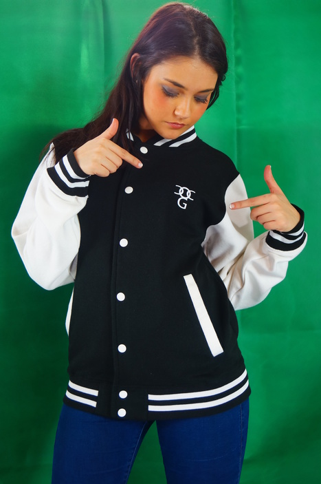 what could make you look prettier than this beautiful varsity jacket,get one now | urban clothing | Scoop.it