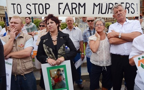 South African farmers fearing for their lives  - Stop White Genocide NOW | The Indigenous Uprising of the British Isles | Scoop.it