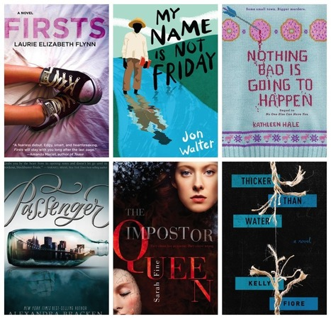 175+ YA Books Hitting Shelves January - March 2016 | Writers & Books | Scoop.it