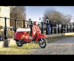 Retro scooter well worth a look | Vespa Stories | Scoop.it