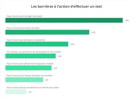 Pourquoi 40% des entreprises ne testent pas leurs sites ou applications mobiles ? | User Test & Expérience utilisateur | Scoop.it