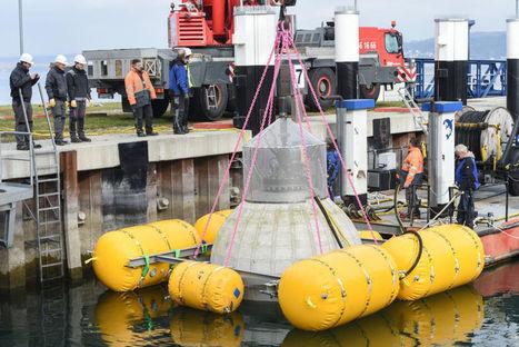 Des sphères géantes pour stocker l'énergie des éoliennes off-shore - Technos et Innovations | innovation-beton | Scoop.it