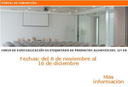 CURSO DE ESPECIALIZACIÓN EN ETIQUETADO DE PRODUCTOS ALIMENTICIOS. 12ª ED (Valencia, 8-16 nov)   All About Food   Scoop.it