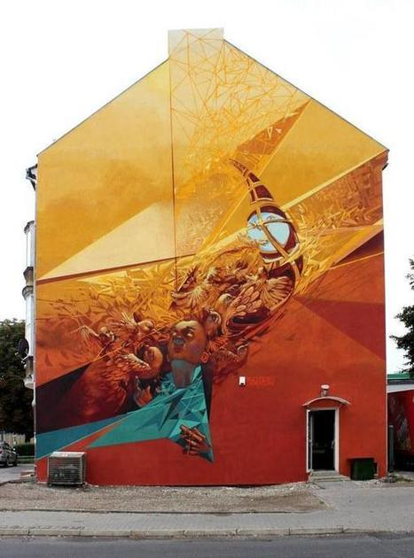 Street Art by Przemek Blejzyk | Cuded | Share Some Love Today | Scoop.it