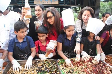 Namrata and Goutham at Cake Mixing | Photos | Scoop.it
