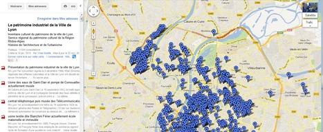 L' inventaire du patrimoine industriel de Lyon géolocalisé sur une carte Google par la Région Rhône-Alpes | Astuces numériques des pros du tourisme du Rhône | Scoop.it