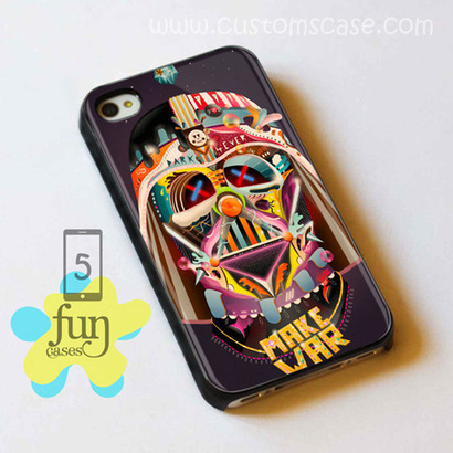 Sugar Darth Vader Galaxy War iPhone 5 Case Cover from Funcases | Sport Merchandise | Scoop.it
