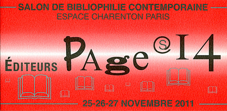 Le prochain salon Pages (bibliophilie contemporaine) | Poezibao | Scoop.it