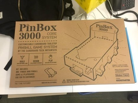 Building the Pinbox 3000 Cardboard Pinball Machine | Maker Stuff | Scoop.it
