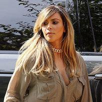Kim Kardashian Blond With North West | Pictures - Popsugar | Kim Kardashian | Scoop.it