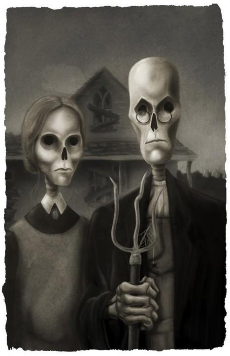 American Gothic: tudo e mais um pouco | IdeaFixa | ilustração ... | Arte & design | Scoop.it