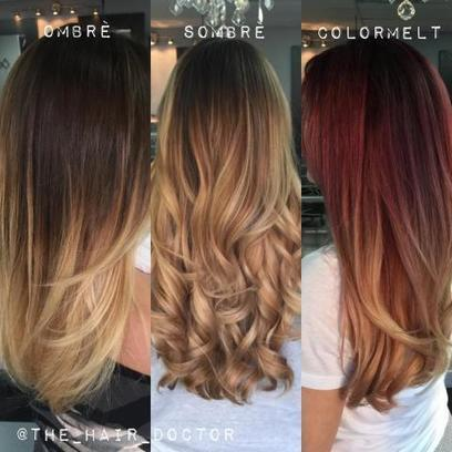 Ombre, Sombre and Colormelt? How Do They Differ? | Kapsels voor vrouwen | Scoop.it
