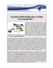 Searching for custom website design   Web Design.net   Scoop.it
