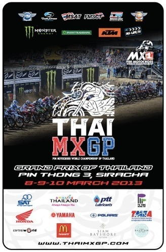 """ThaiMXGP Ticket Prices"" - ราคาบัตรผ่านประตูโมโตครอสโลก, ศรีราชา ประกาศแล้ว | FMSCT-Live.com | Scoop.it"