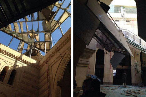 articles/Car bomb explodes outside Cairo museums | Destruction of Cultural Heritage in the Middle East | Scoop.it
