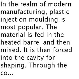 What is the Role of Plastic Injection Moulding Manufacturers?   Plastic Injection Molding   Scoop.it