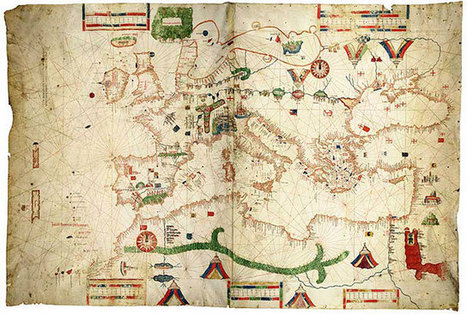 Medieval maps from the 11th to 14th centuries - Kottke.org | History | Scoop.it
