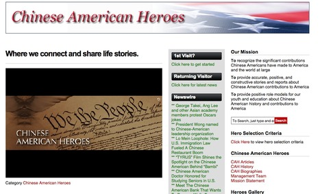 Chinese American Heroes| | Chinese American Now | Scoop.it